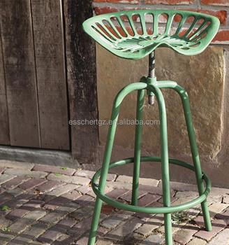 Esschert Design Tractor Seat Adjustable Vintage Coffee Cup Chair