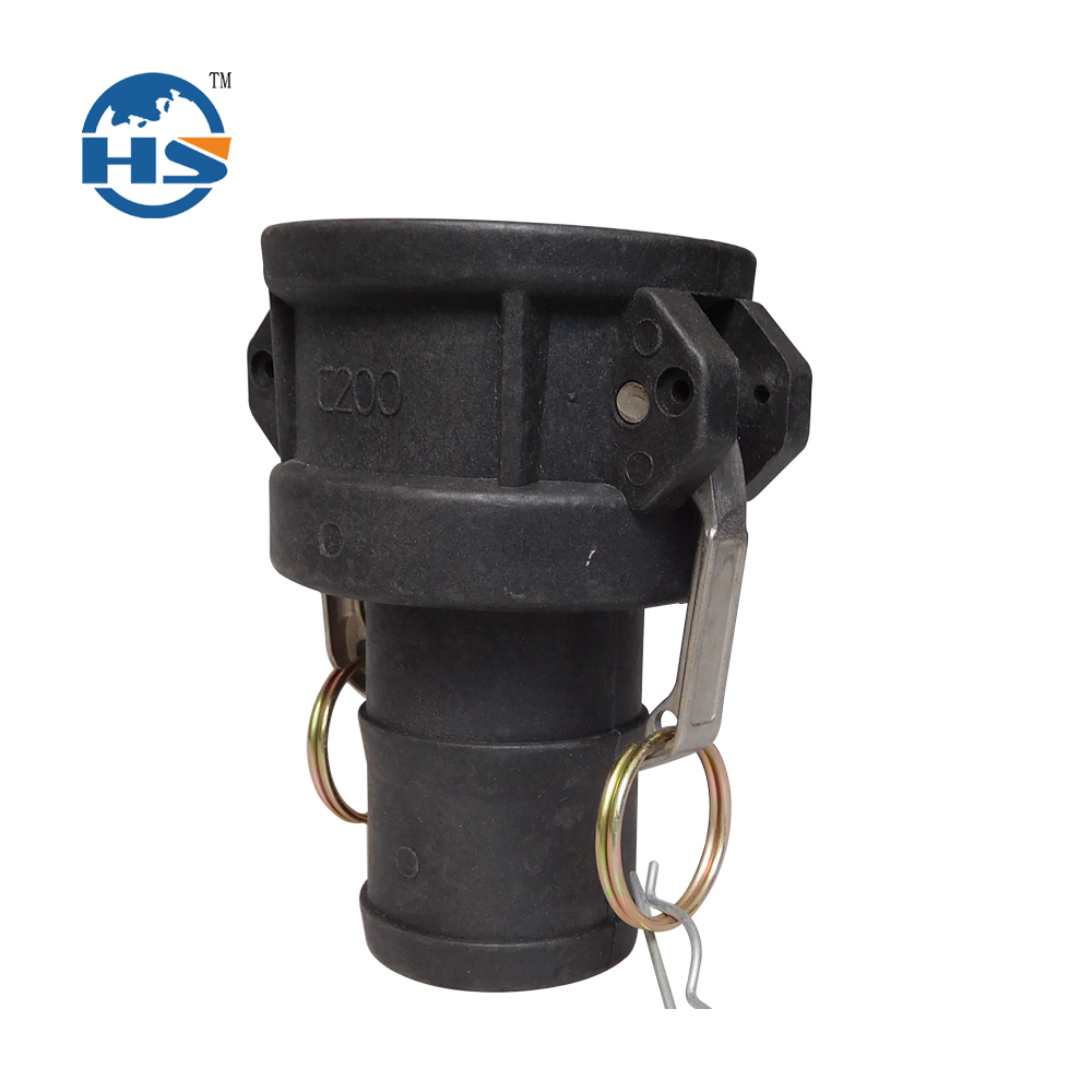 Black Color Plastic PP Polypropylene Camlock Coupling/Coupler/Connector/hydraulic fitting Type C Cam and Groove