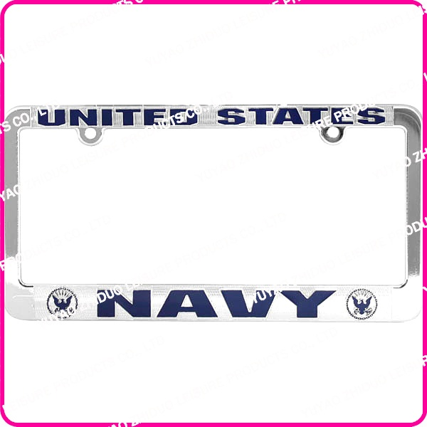led car license plate frames