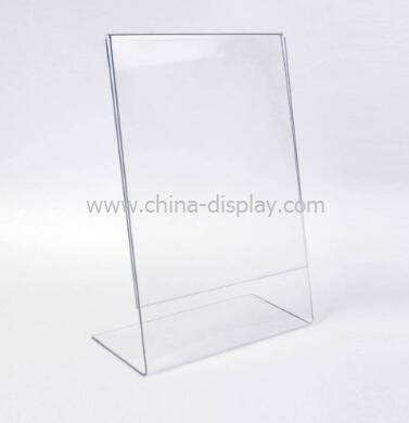 Acrylic Sign Holder Table Top Sign Stands