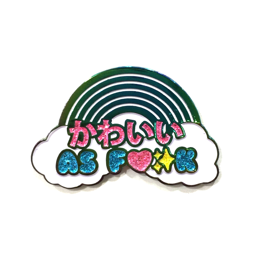 Custom Soft Enamel Pin Rainbow Metal Enamel Pins