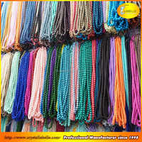 Wholesale 4mm 6mm 8mm 10mm 12mm Crystal Glass Beads Loose Bulk Crystal Beads Strands