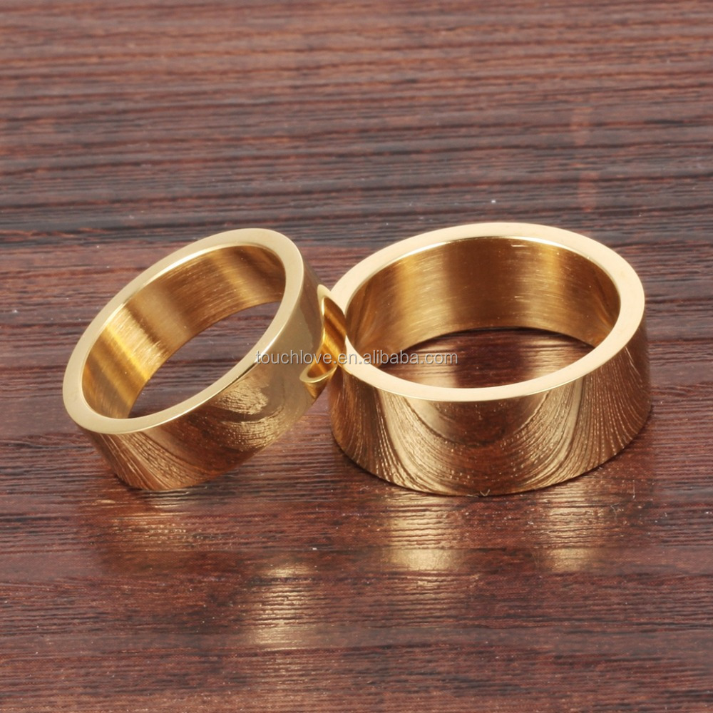 Wholesale Custom Gold Plated Ring African Wedding Rings