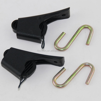 High Strength Flat Adjustable Plastic Wire Clamp /clips For Ftth ...