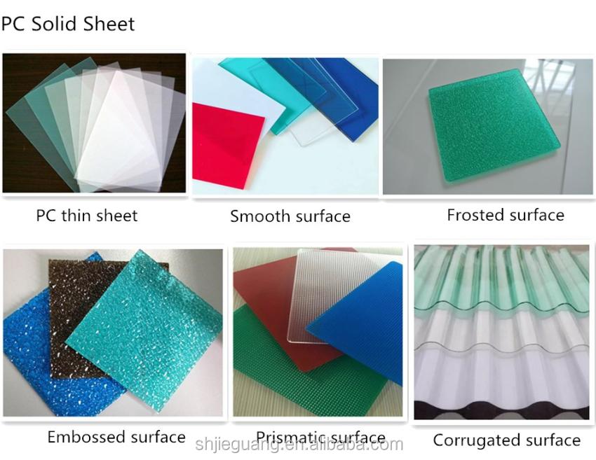 Sabic Lexan/bayer Makrolon Polycarbonate 10 Years Guarantee Polycarbonate  Solid Sheet - Buy Polycarbonate Sheet,Polycarbonate Solid Sheet,Sabic Lexan