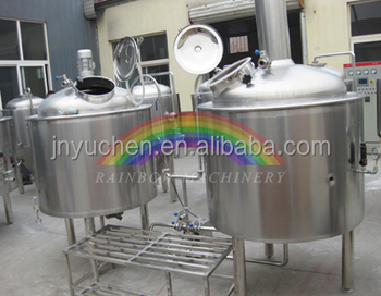 5bbl Beer Equipment Used For Pilot Brewery With Rims