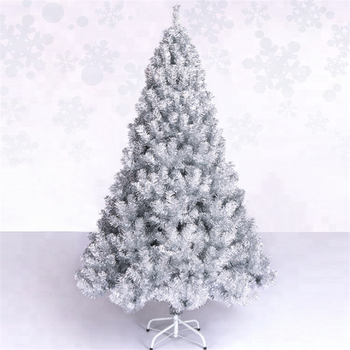 150cm silver christmas tree deluxe encrypted naked tree christmas decorations