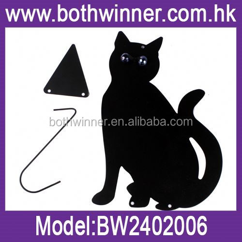 Metal garden art ,H0T261 garden ornament cat for sale