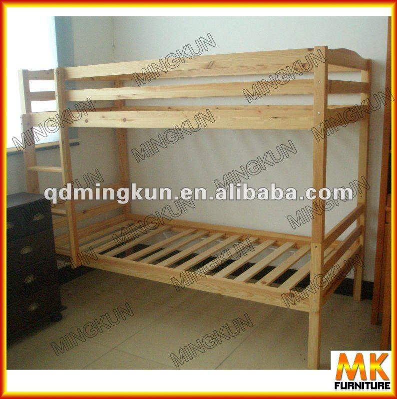De ni os de madera litera camas de madera identificaci n for Literas de madera para ninos