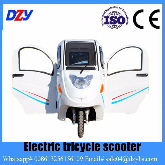 2016 China Enclosed 3 Wheel Motorcycle Electric Tricycle Supplier ...