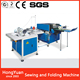 New style Binding Machine book central threading & folding machine