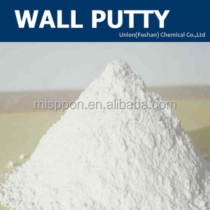 Waterproof wall putty for interior wall
