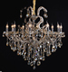 Decoration led diy chandelier crystal foyer Chandeliers