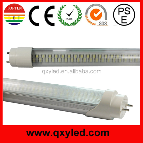 UL DLC PSE SAA Electronics and magnetic compatible tube 160LM/W high lumen tub T8 led light tube t8 2ft 4ft 5ft led tube 77