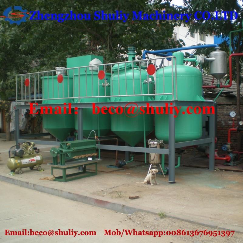 Mini Oil Plant : Micro refinery used for mini soya oil