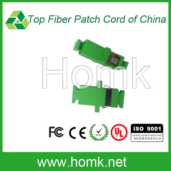 Homk Green SC APC SM MM Optical Adapter