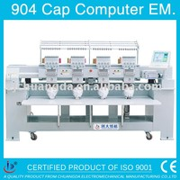 904 HIGH SPEED CAP T-SHIRT 4 HEADS COMPUTER EMBROIDERY MACHINE PRICE ,COMPUTERIZED TAJIMA EMBROIDERY MACHINE FOR SALE