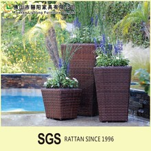 Selling Well Outdoor Rattan Furniture,Fine In Quality And Lowest In Price Flower Pot,Perfect Handmade Patio Planters Pot