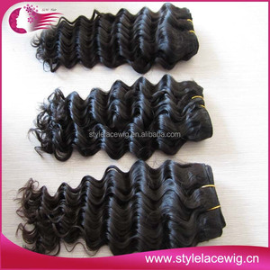 Grade AAA afro weave brazilian virgin remy human hair extensions/weaving