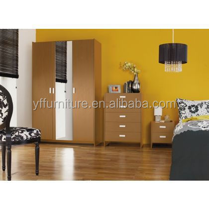 Cabinet Design For Clothes For Kids factory wholesale baby bedroom closet wood cartoon kids wardrobe