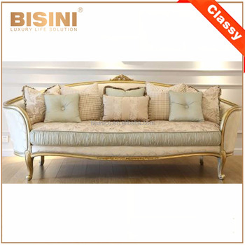 Antique French Provincial Fabric Sofa Set Design Rococo Wooden Carving  Living Room Furniture - Buy Sofa Set In Living Room,Provincial Fabric Sofa  ...
