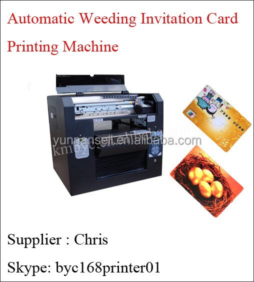 Automatic wedding invitation card printing machine pvc card automatic wedding invitation card printing machine pvc card business card printer buy automatic wedding invitation card printinting machinepvc card stopboris Choice Image