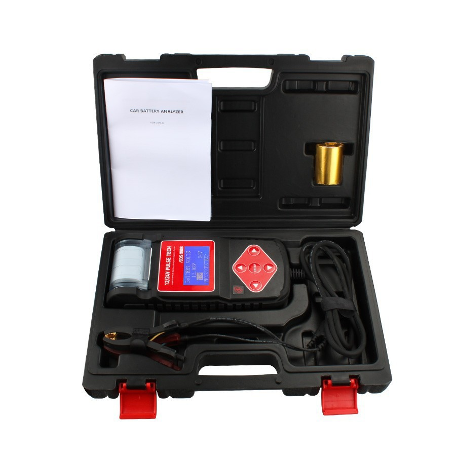 2015 Professional ADS9908 Auto Battery Analyzer ADS Battery Test with Multi-Languages Fast Shipping