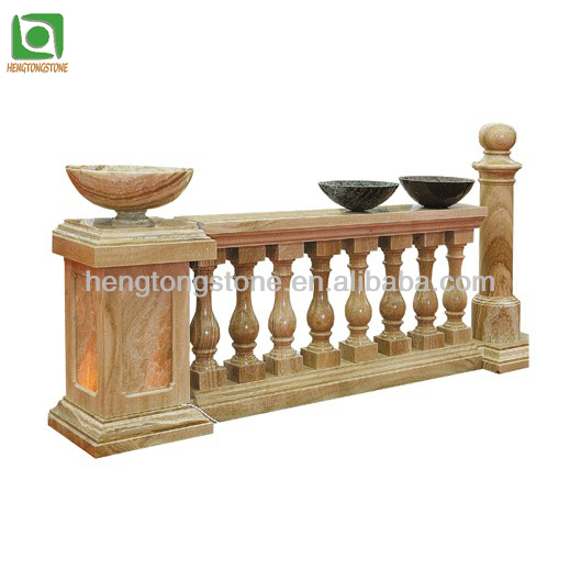 Stone Outdoor Stair Railings For Sale