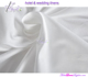 300TC white sateen hotel flat sheets, white sateen flat sheets for 5-star luxurious hotels
