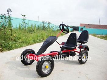 Hot sell pedal go kart,sand beach cart for 5-99 years old, View pedal go  kart, Aodelong, Aodelong,Xiaomengniu Product Details from Qingdao Aodelong