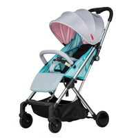 New Arrival Aluminium Frame Light One Hand Fold Baby Stroller