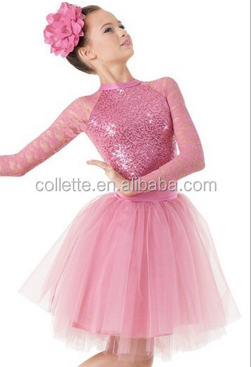MBQ1086 Girl s gold sequin lycrial dance costumes jazz party dance tutu  dress 6c578ecc7