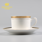Hot selling Top Grade espresso coffee ceramic cup and saucer set malaysia