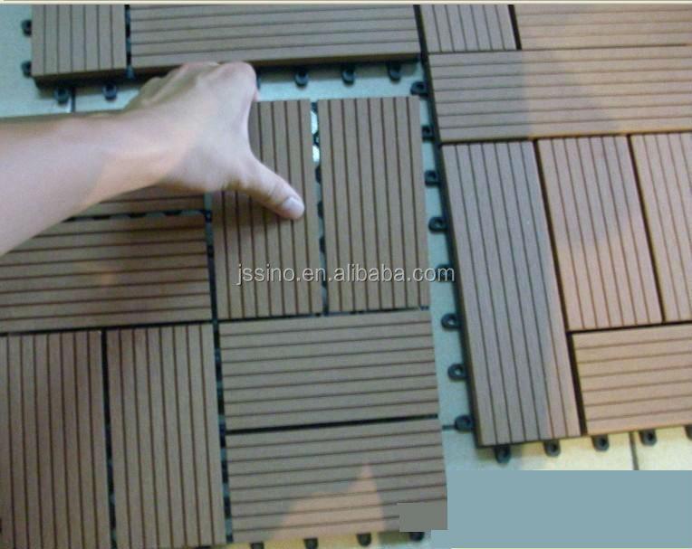 Wpc Decking Tiles Patio Flooring
