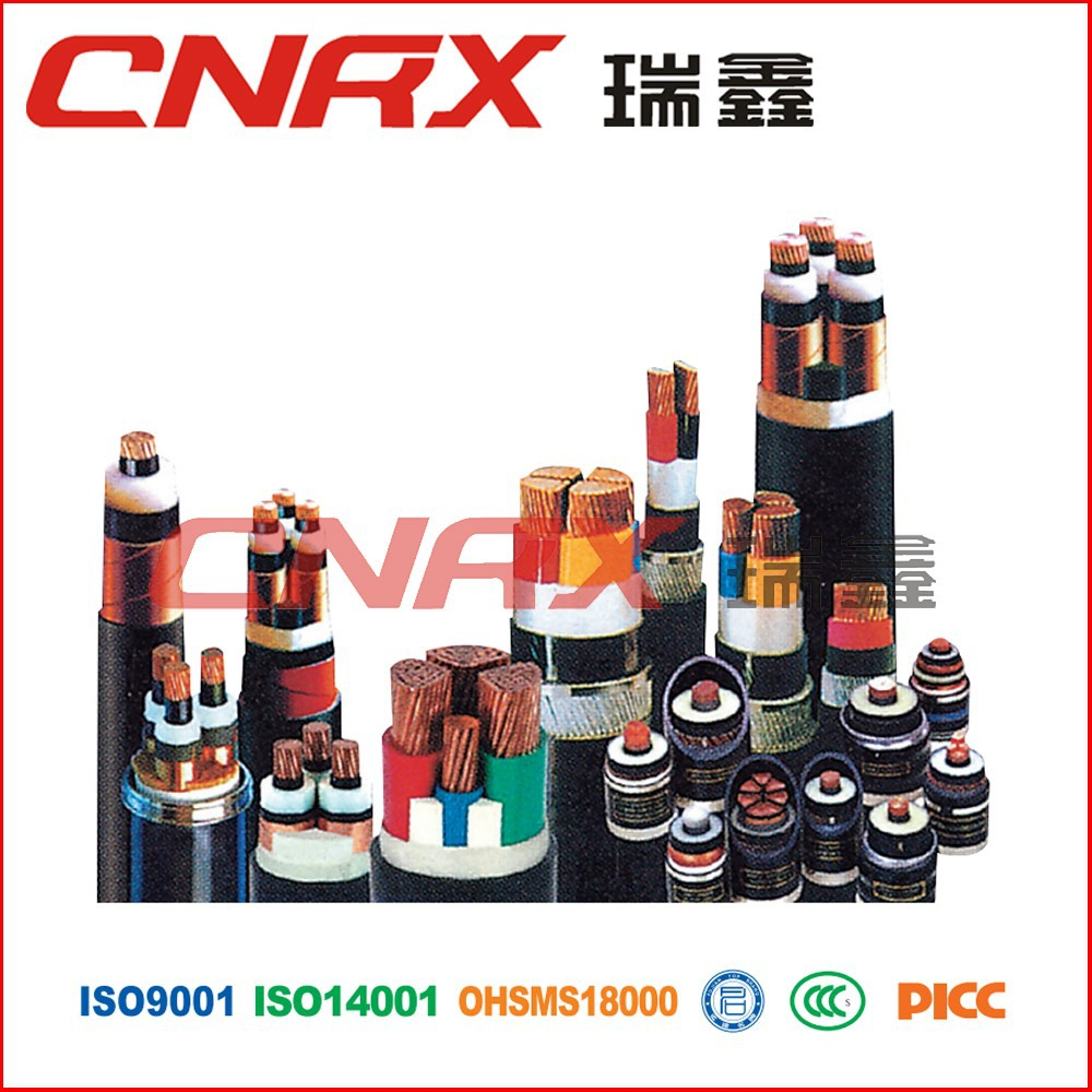 Made in China Ruixin Group 0.6/1kv 4 core Copper Conductor PVC Insulated PVC /PE Jacket saudi drums factory pnct cable