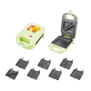 Mini 1 Slice Sandwich Maker Toaster,Some Customized Plate Can Be Choose