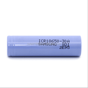 2016 New e cigs mod battery 1pcs x Original for SAMSUNG ICR 18650-30A 3000mAh 3.7V Li-ion Rechargeable Battery