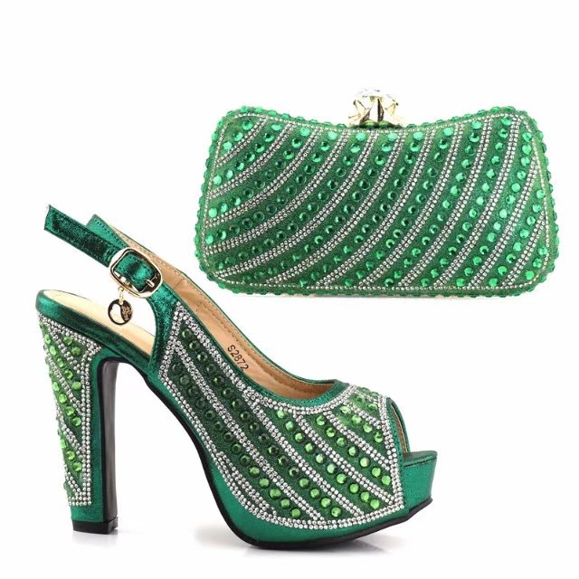 and African and Sinyafashion blue bag set set wedding italian shoes party shoes Royal bag 66HwqFPR