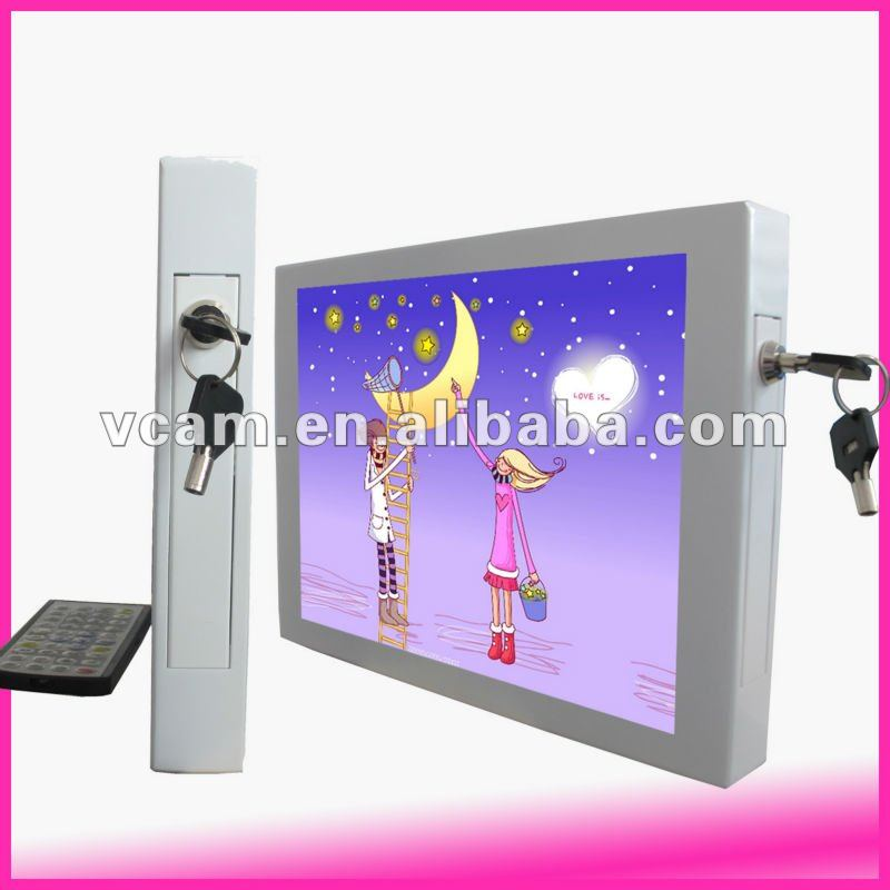 12.1 inch wall mount advertising display frame
