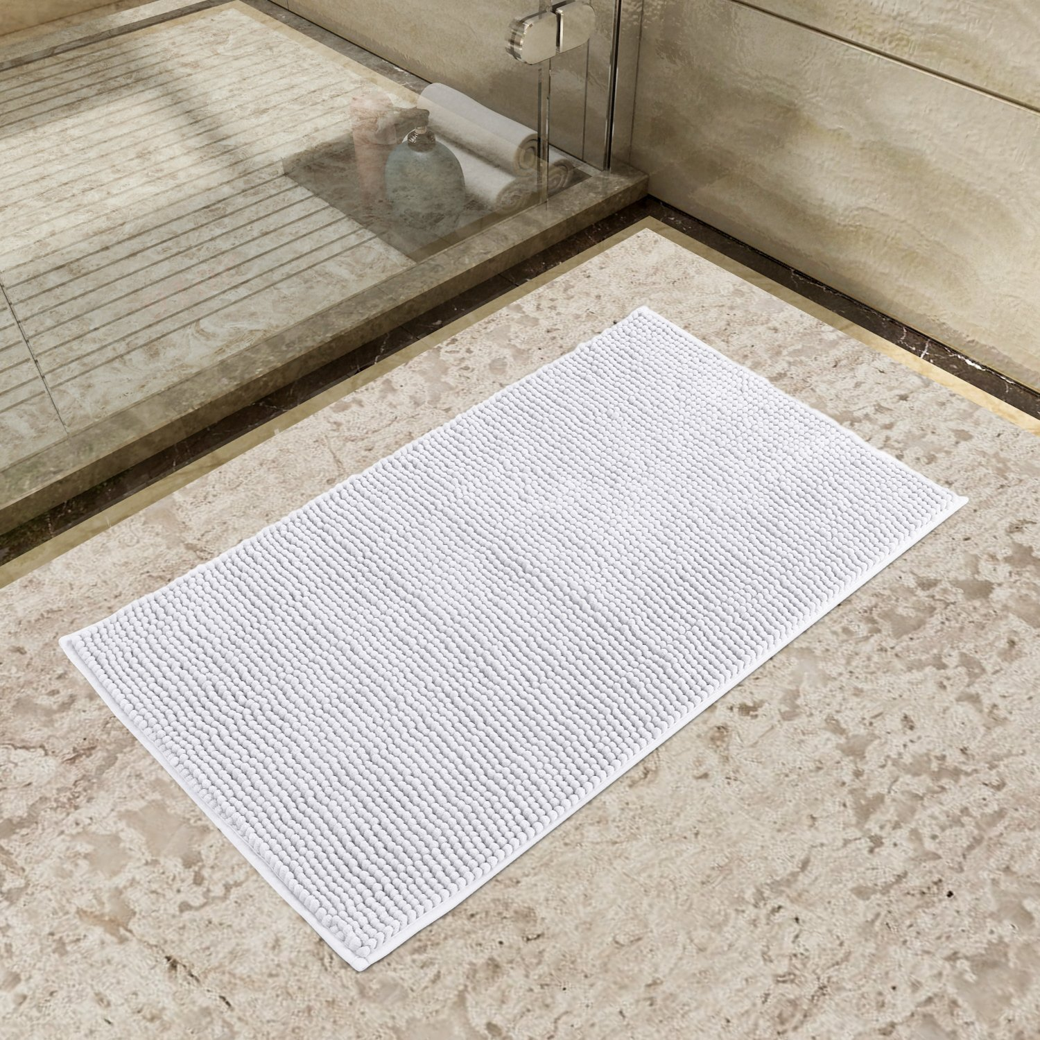 set white bathroom black mat check mats rug sets and striped bath wipeoutsgrill info