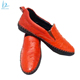 Luxury high quality genuine ostrich leather skin men shoes