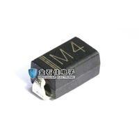 1N4004 M4 1A 400V Rectifier Diode DO-214AC smd IN4004