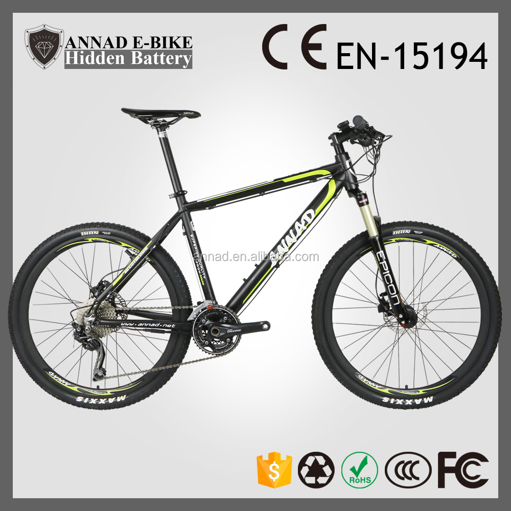 ce en15194 popular new design hidden battery bicycle