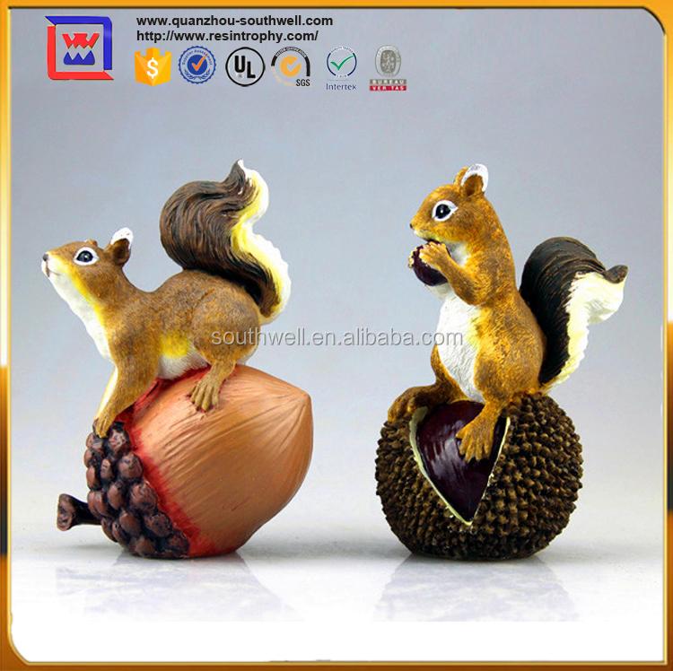 cureuil animaux miniatures figurines pour la d coration arts collection id de produit. Black Bedroom Furniture Sets. Home Design Ideas