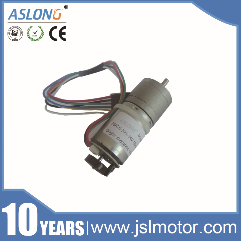 Mini High Torque 12v Dc Servo Motor Encoder With Gearbox