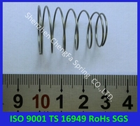 ISO9001,TS16949, RoHS compliant cone compression spring