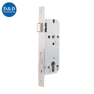 CE EN 12209 EN1634 Stainless steel Fire rated sash 85mm mortise lock for metal steel wooden door