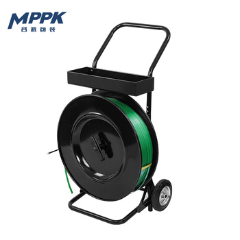 High Quality Two Wheels Strapping Dispenser Carts for PET Strap