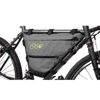 bicycle frame mounted pack mountain cycling bag waterproof bicycle front tube frame bike bag