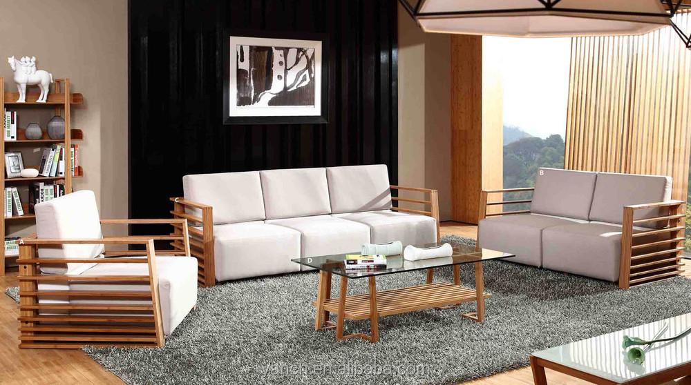 Modern Bamboo Sofa Set New Design